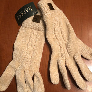 RALPH LAUREN KNIT GLOVES NEW NWT
